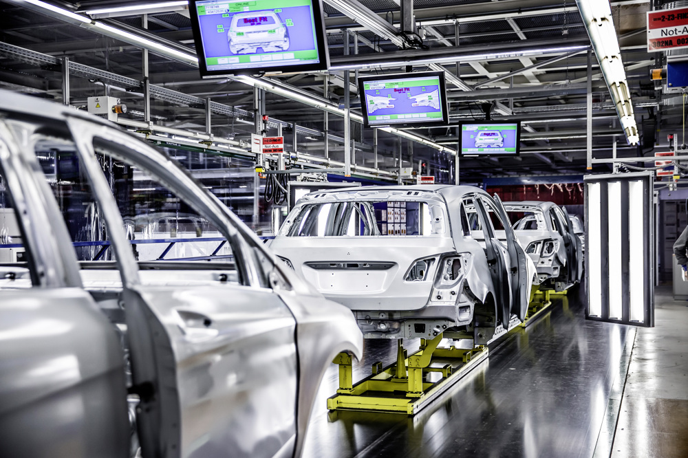 Mercedes-Benz Werk Rastatt // Mercedes-Benz Rastatt plant