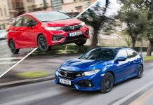 Honda Jazz + Honda Civic