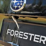 Subaru Forester umyvacka zadnej kamery