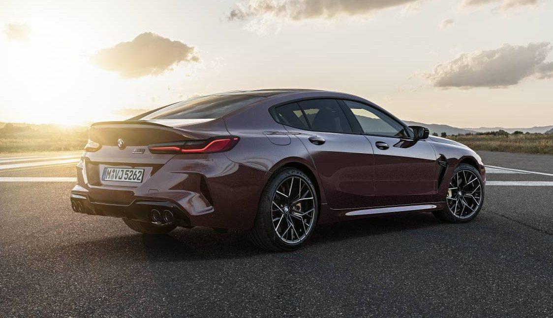 BMW M8 GranCoupé AUTOGRÁTIS