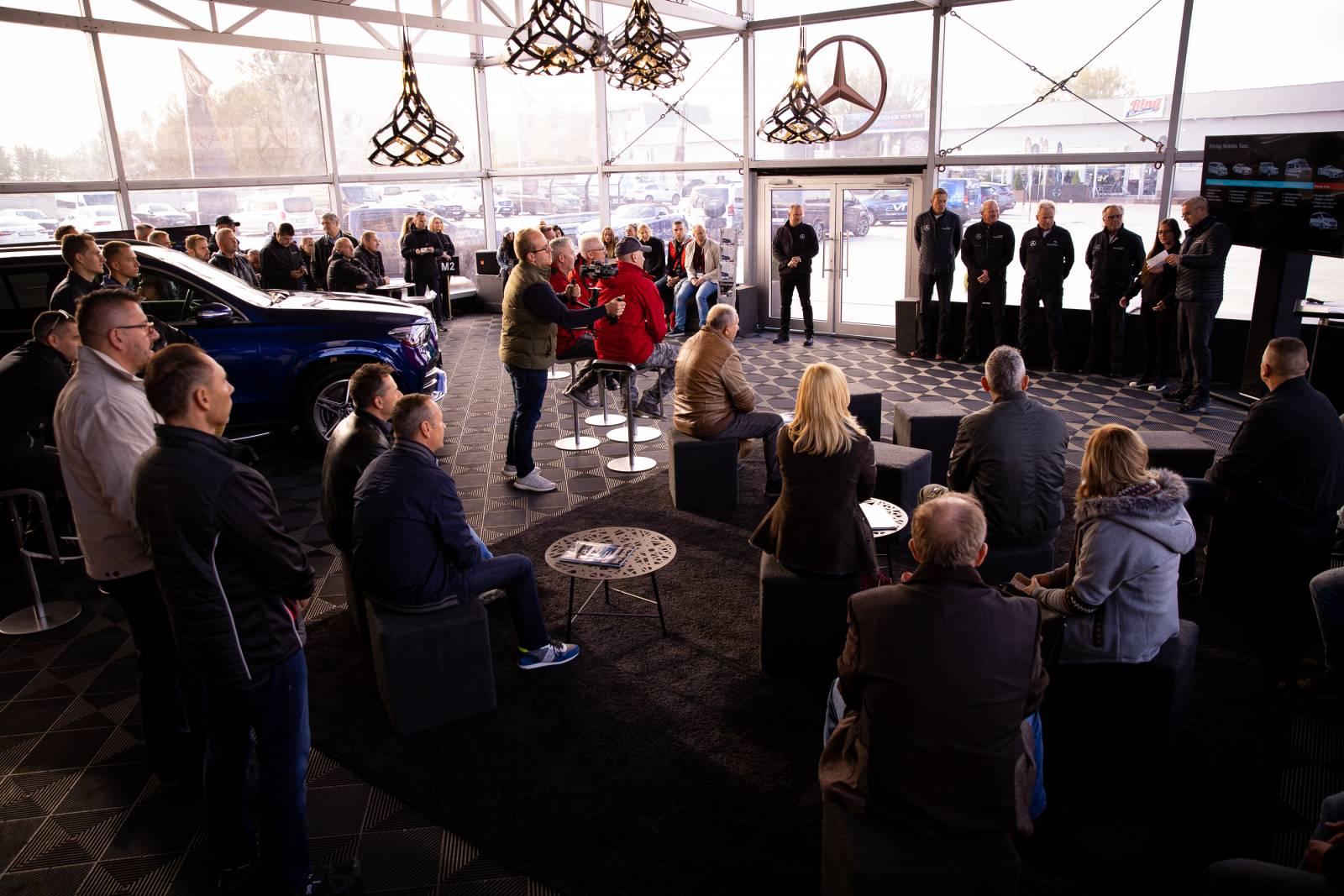 Mercedes-Benz Star Experience AUTOGRÁTIS