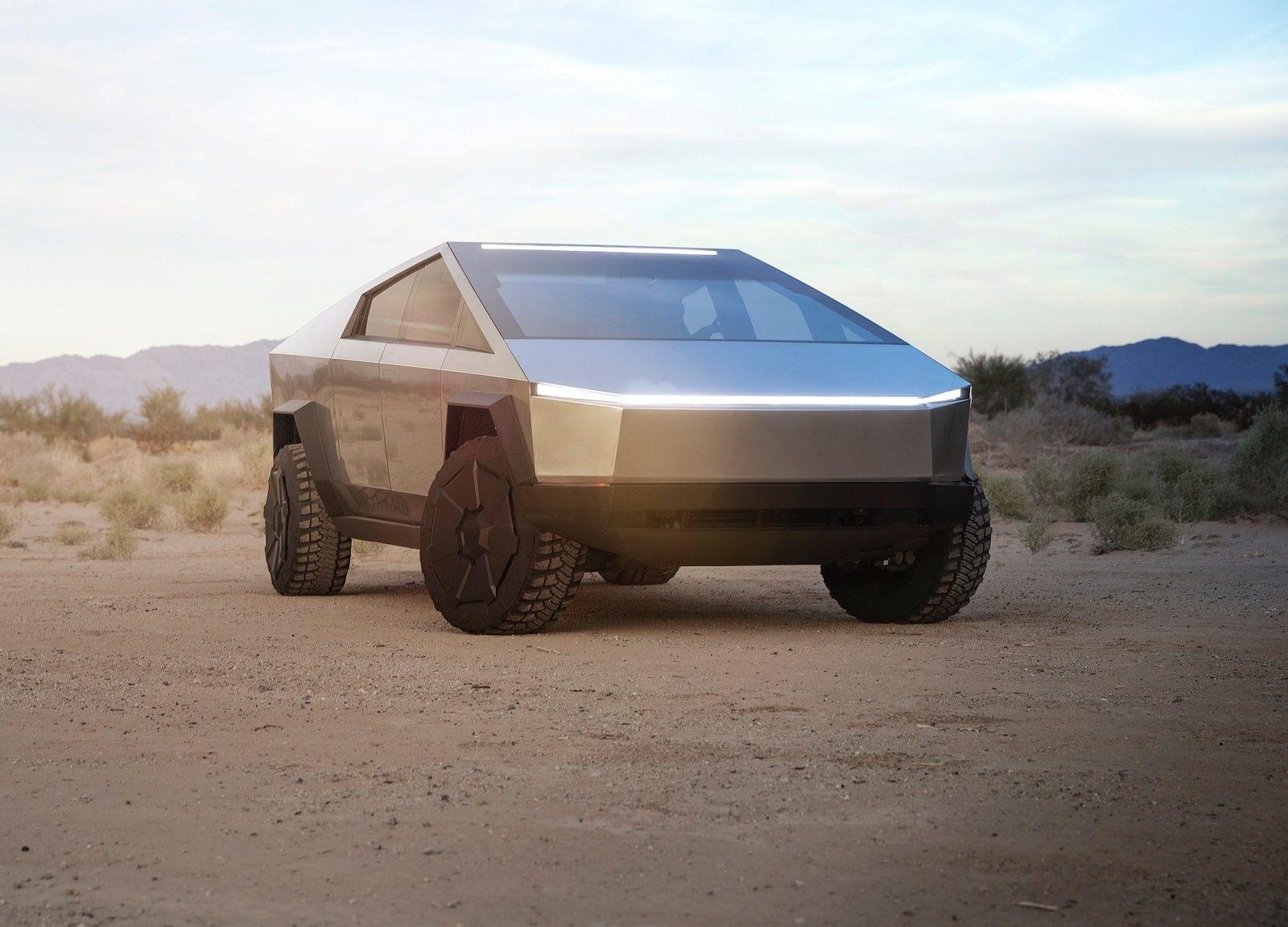 Tesla Cybertruck AUTOGRÁTIS