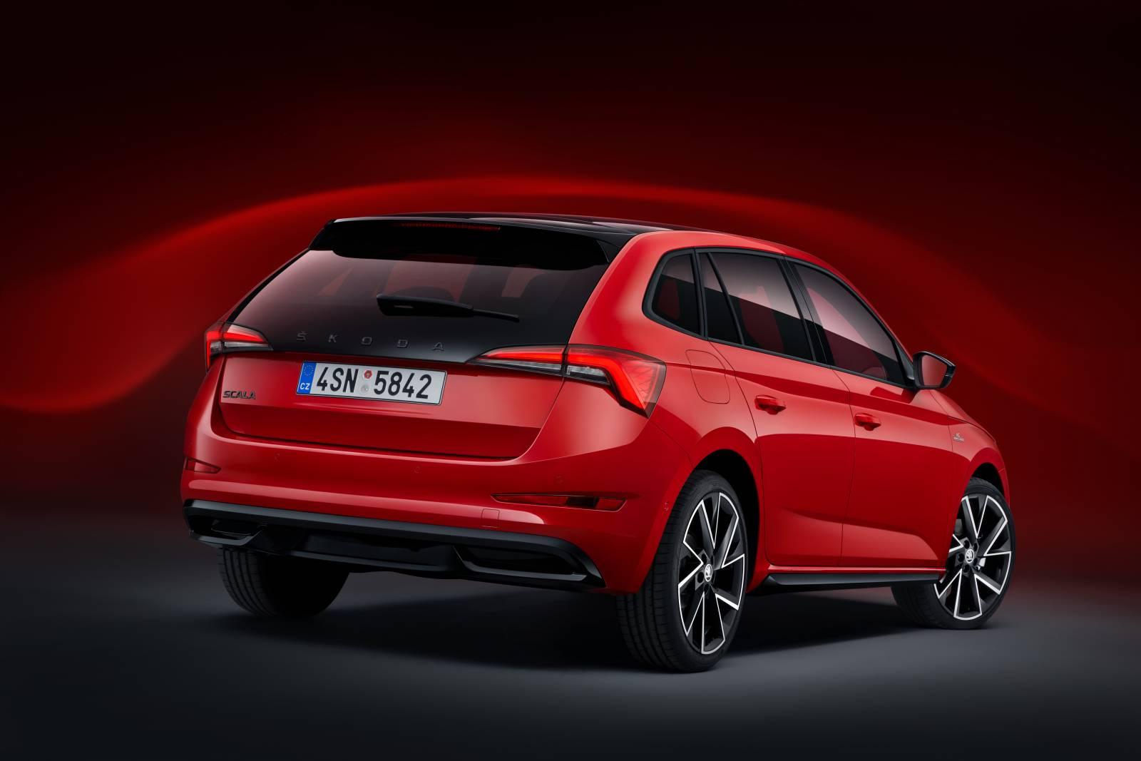 Škoda SCALA Monte Carlo AUTOGRÁTIS