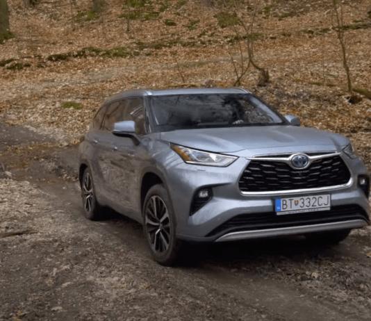 Toyota Highlander test